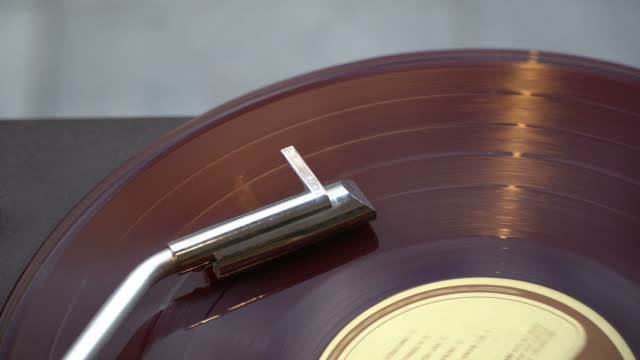 old record is spinning on turntable - country and western stock videos & royalty-free footage