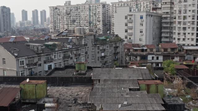 old residential areas in wuhan - virus organism stock videos & royalty-free footage