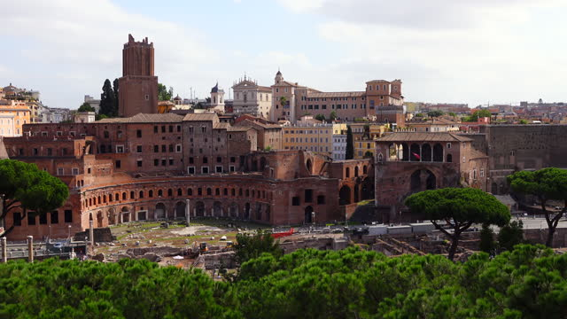 old ruins in rome - ancient rome stock videos & royalty-free footage