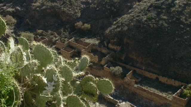 WS Old ruins of mining town / Real de Catorce, San Luis Potosi, Mexico