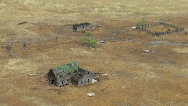 Old Run Down Farmhouse In Texas