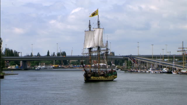 """Old sailing ship """"Peter the Great"""""""