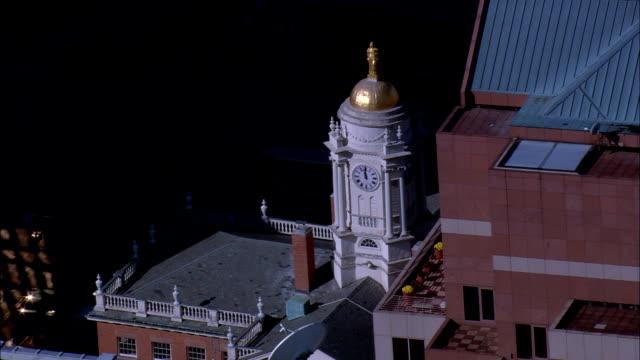 旧州議会議事堂 - 空中写真 - コネチカット州ハートフォード郡、アメリカ合衆国