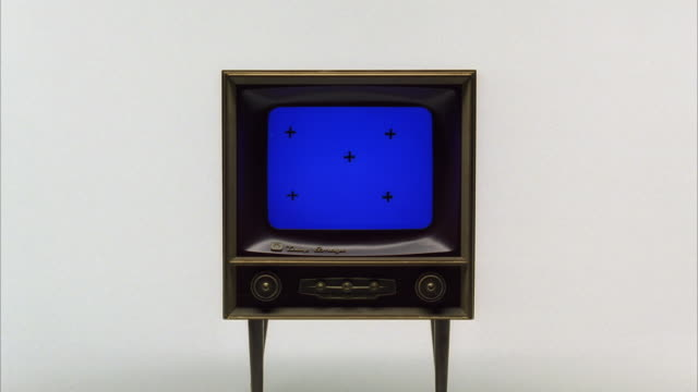 MS ZI Old television set