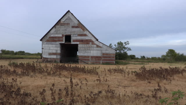 old tin barn - weathered stock videos & royalty-free footage