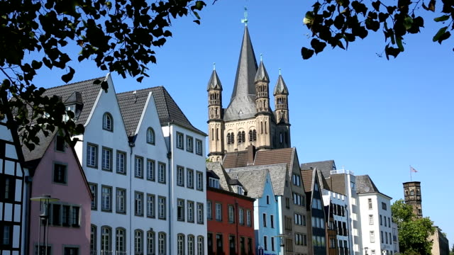old town cologne - old town stock videos & royalty-free footage