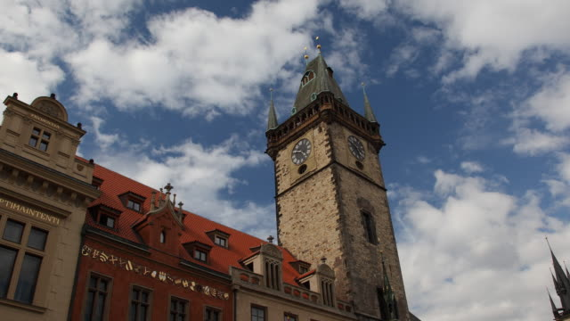 T/L LA MS Old Town Hall tower / Prague, Czech Republic
