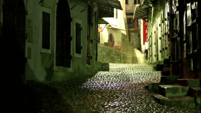 old town in mostar - eastern european culture stock videos & royalty-free footage