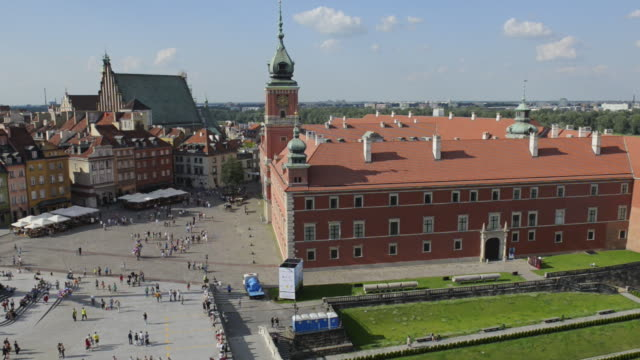 old town in warsaw - eastern european culture stock videos & royalty-free footage