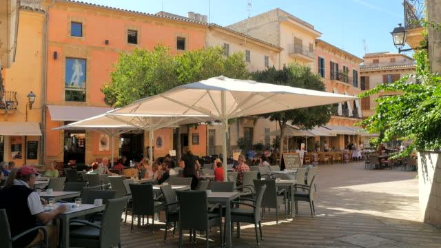 Old town of Alcudia, Majorca, Balearic Islands, Spain