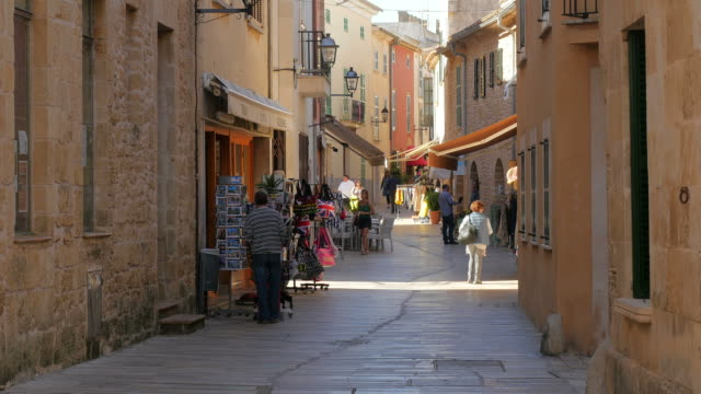 Old town of Alcudia, Majorca, Balearic Islands, Spain