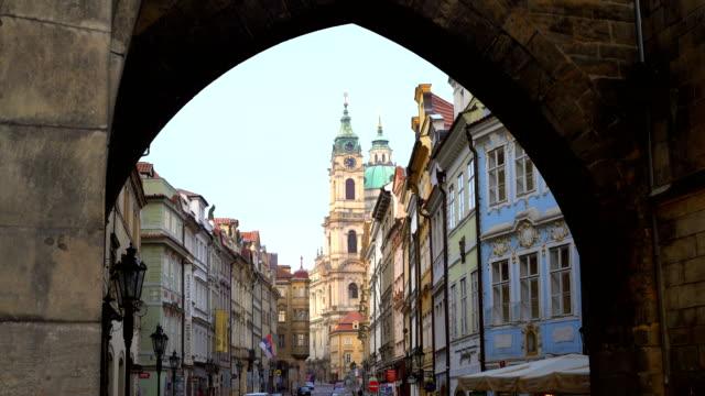 プラハ旧市街 - プラハ旧市庁舎点の映像素材/bロール