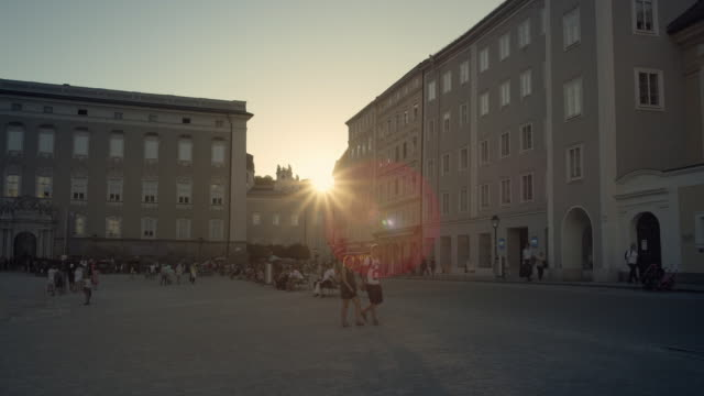 old town salzburg - traditionally austrian stock videos & royalty-free footage