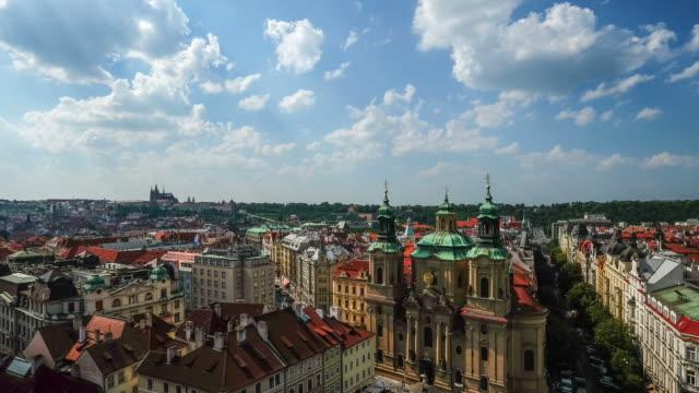 Plaza de la ciudad antigua, a la ciudad de Praga, República Checa