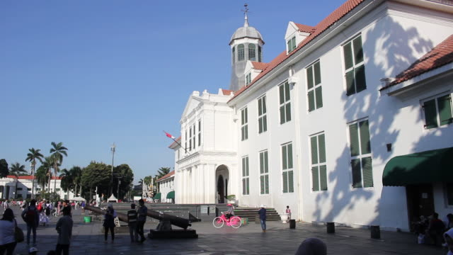 Old Town Tourist Attraction in Jakarta