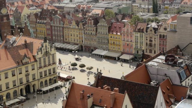 Old Town Wroclaw in Poland
