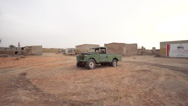 Old truck in rural Ras al-Khaimah