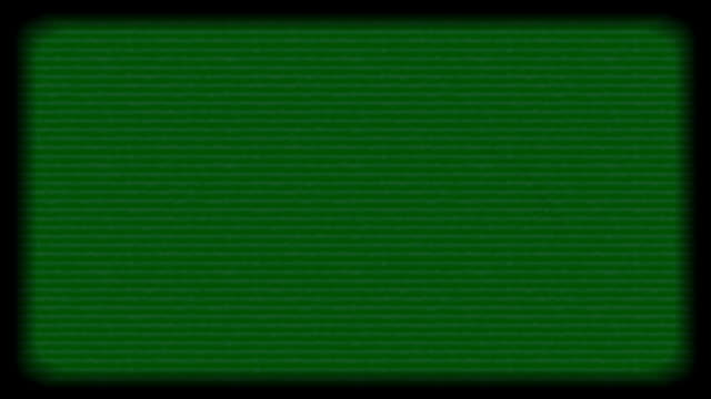old tv green screen filter - television static stock videos & royalty-free footage