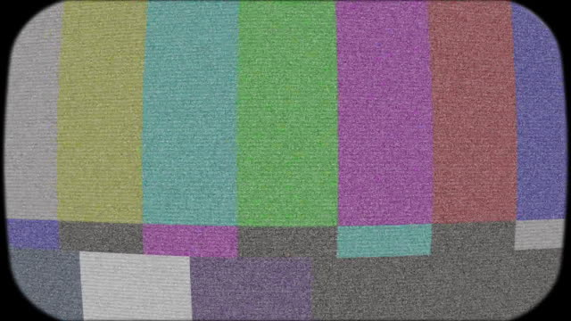 old tv static and noise (hd) - the past stock videos and b-roll footage