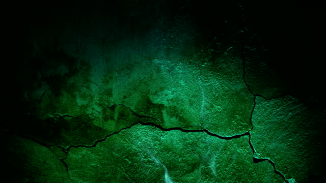 old wall and green light of fire - surrounding wall stock videos & royalty-free footage