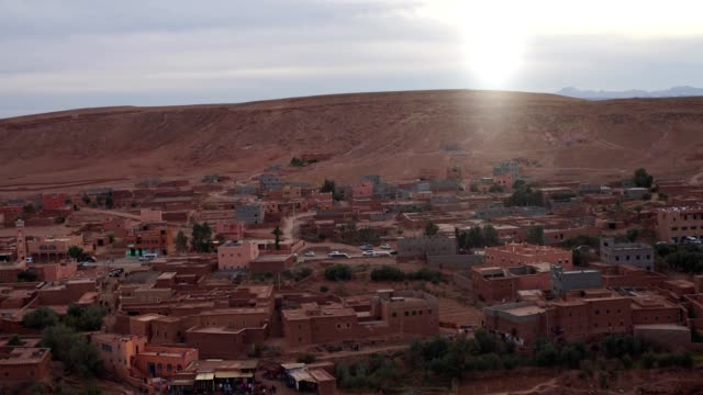 old walls of ait ben haddou - middle eastern culture stock videos & royalty-free footage