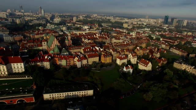 old warsaw - dronebase stock videos and b-roll footage