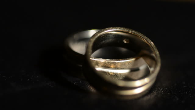 old wedding rings - married stock videos & royalty-free footage