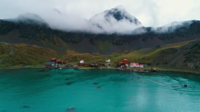 old whaling station - 大西洋諸島点の映像素材/bロール