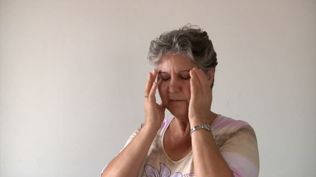Old Woman and Headache