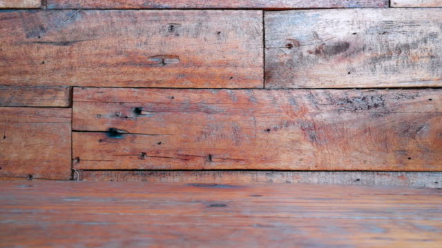 Old Wood Background Slide Shot By Smart Phone