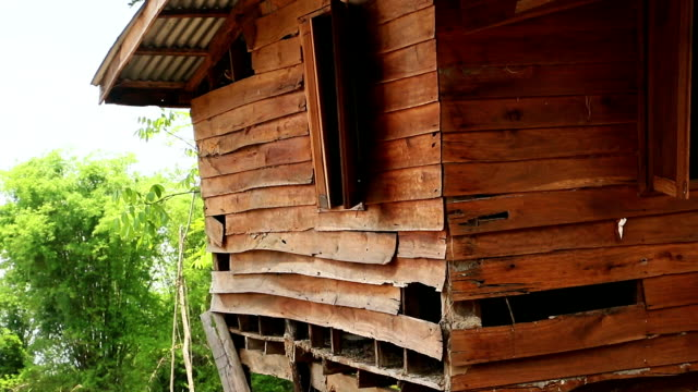 old wooden shack - shack stock videos and b-roll footage