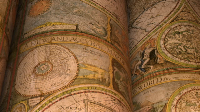 old world map - paper scroll stock videos and b-roll footage