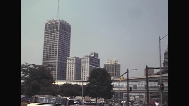 older people visiting detroit / shot on july 1988 - michigan stock videos & royalty-free footage