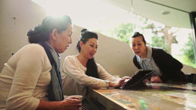Older Women Using Tablet
