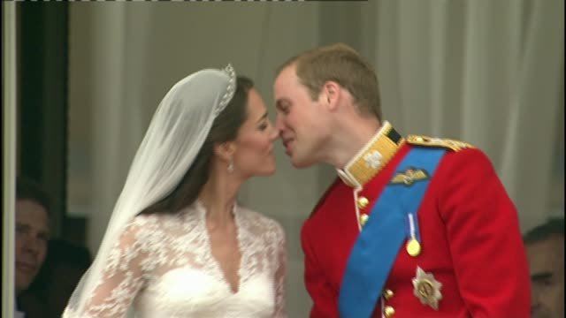 oldest jaguar dealership r a creamer to close t29041123 /tx catherine duchess of cambridge and prince william duke of cambridge kissing on wedding day - duchess of cambridge stock videos & royalty-free footage