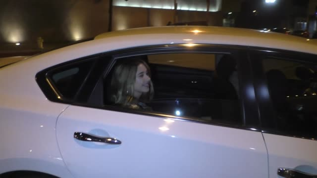 olesya rulin on her crush on shia labeouf outside craig's in west hollywood at celebrity sightings in los angeles on april 26, 2019 in los angeles,... - shia labeouf stock videos & royalty-free footage