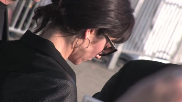 olga kurylenko greets fans at 2012 film independent spirit awards in santa monica, ca 02/25/12 - independent feature project stock videos & royalty-free footage