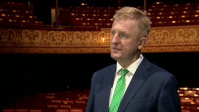 oliver dowden visits wolverhampton grand theatre; **filmed on 29.3.2021 and embargoed for use until 2.4.2021** england: west midlands: wolverhampton:... - micro organism stock videos & royalty-free footage