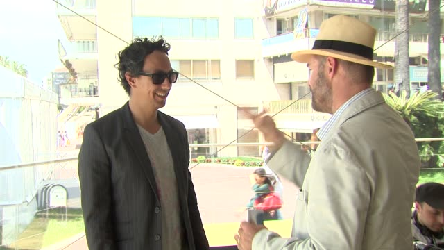 Oliver Hermanus Charlie Keegan at the Skoonheid Interviews 64th Cannes Film Festival at Cannes