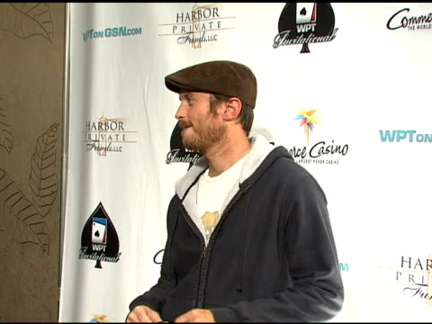 Oliver Hudson at the 6th Annual World Poker Tour at the Commerce Casino in Los Angeles California on March 2 2008