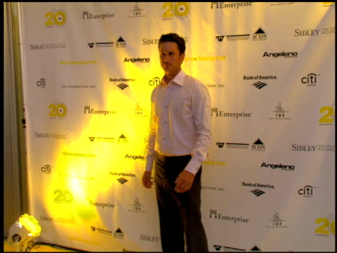 Oliver Hudson at the Skid Row Housing Trust Hosts Its 20th Anniversary Gala Celebration at Los Angeles CA
