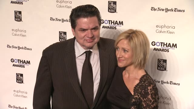 oliver platt and edie falco at the ifp's 21st annual gotham independent film awards red carpet at new york ny - oliver platt stock videos & royalty-free footage