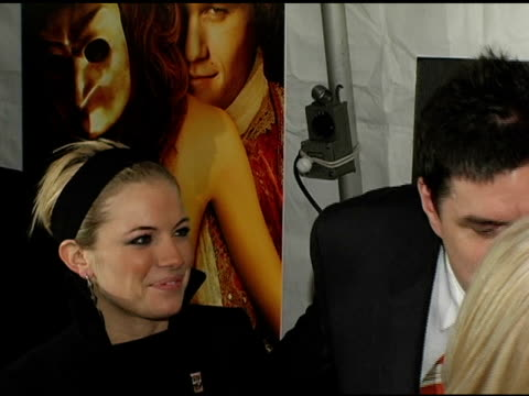oliver platt and sienna miller at the 'casanova' new york premiere at lowes lincoln square in new york new york on december 11 2005 - oliver platt stock videos & royalty-free footage