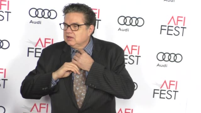 oliver platt at audi celebrates opening night of 'rules don't apply' at afi fest 2016 on november 10 2016 in hollywood california - oliver platt stock videos & royalty-free footage