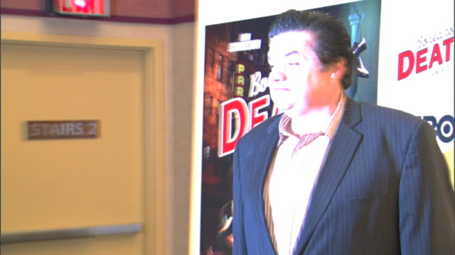 mcu oliver platt posing for paparazzi on the red carpet - oliver platt stock videos & royalty-free footage