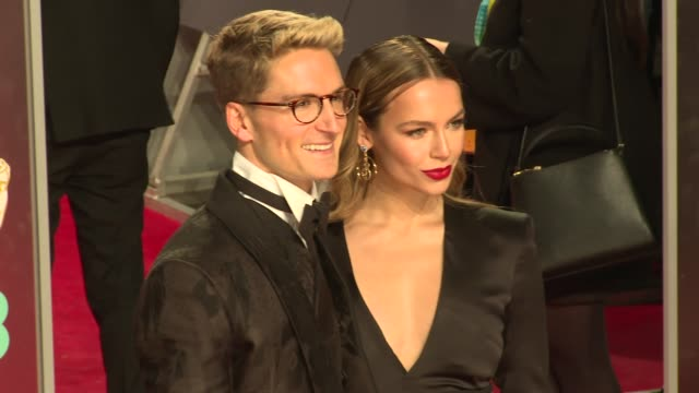 Oliver Proudlock Emma Louise Connolly at Royal Albert Hall on February 18 2018 in London England