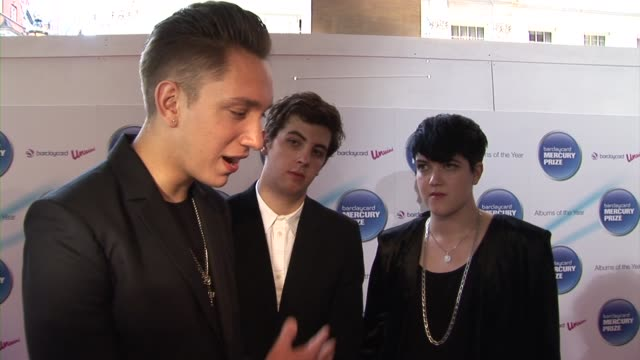 oliver sim, romy madley croft and jamie smith of the xx on their next album, touring at the barclaycard mercury prize arrivals at london england. - croft stock videos & royalty-free footage