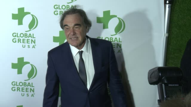 oliver stone at 14th annual global green pre-oscar® party in los angeles, ca 2/22/17 - oscar party stock videos & royalty-free footage