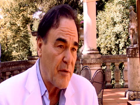 stockvideo's en b-roll-footage met oliver stone on how his film snowballed into what it was once he started looking into latin american story the region has been treated as america's... - oliver stone