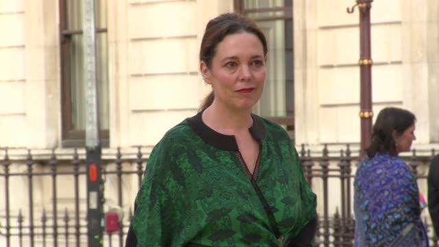 olivia colman at royal academy of arts on june 06 2018 in london england - royal academy of arts stock videos & royalty-free footage